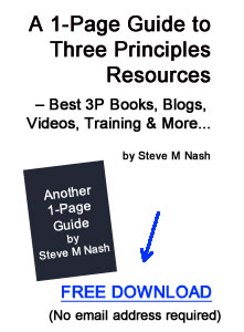 1-Page Guide to Three Principles - Free Download