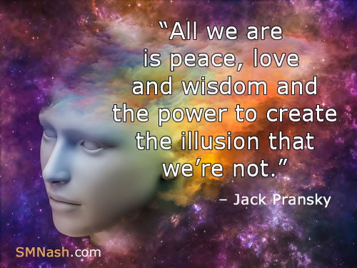 Jack Pransky quote | face - about transformative life coaching