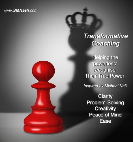 Pawn, Queen Image (Chess Pieces) - Transformative coaching metaphor