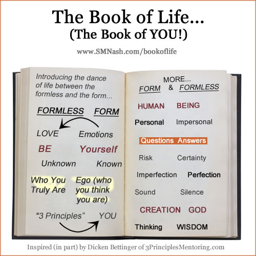 The Book of Life - The Book of You