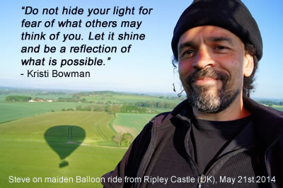 Quote about not hiding your light