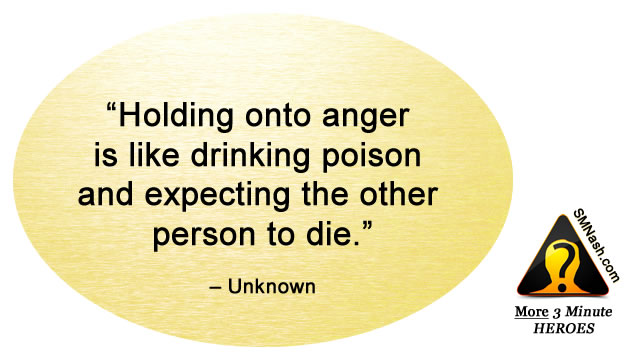 Inspirational quote about feeling angry