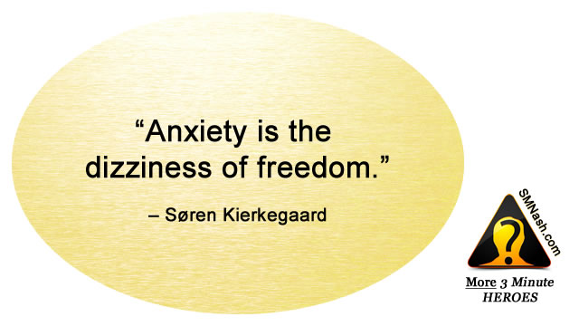 Inspirational quote about feeling anxious