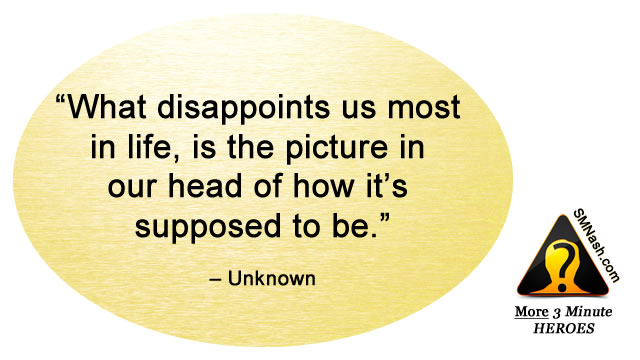 Inspirational quote about feeling disappointed