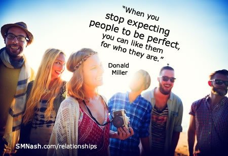 Perfection quote | funky people - better relationships