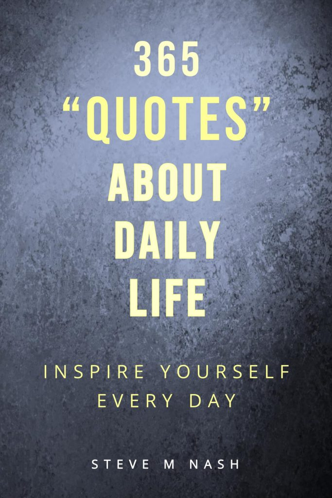 Daily quotes book cover